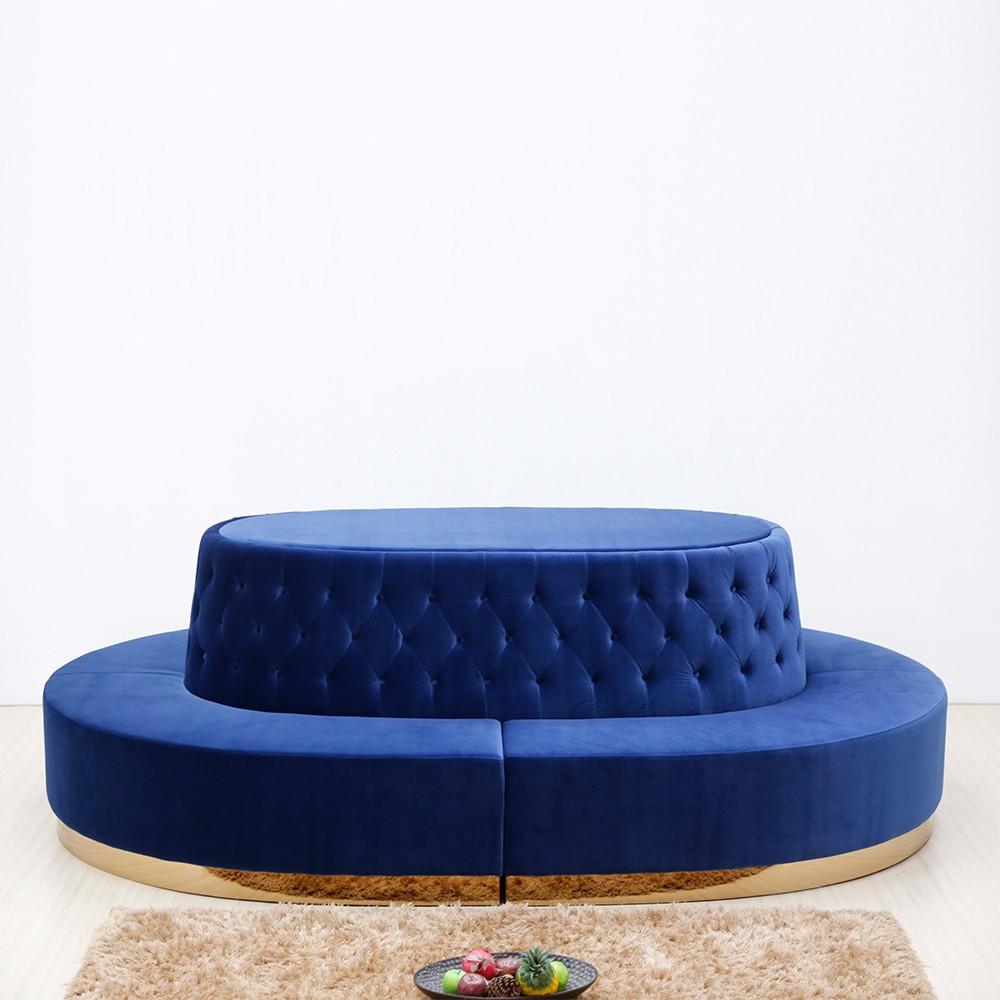 product-Uptop Furnishings-SP-KS175 Round leisure hotel furniture fabric sofa sets-img