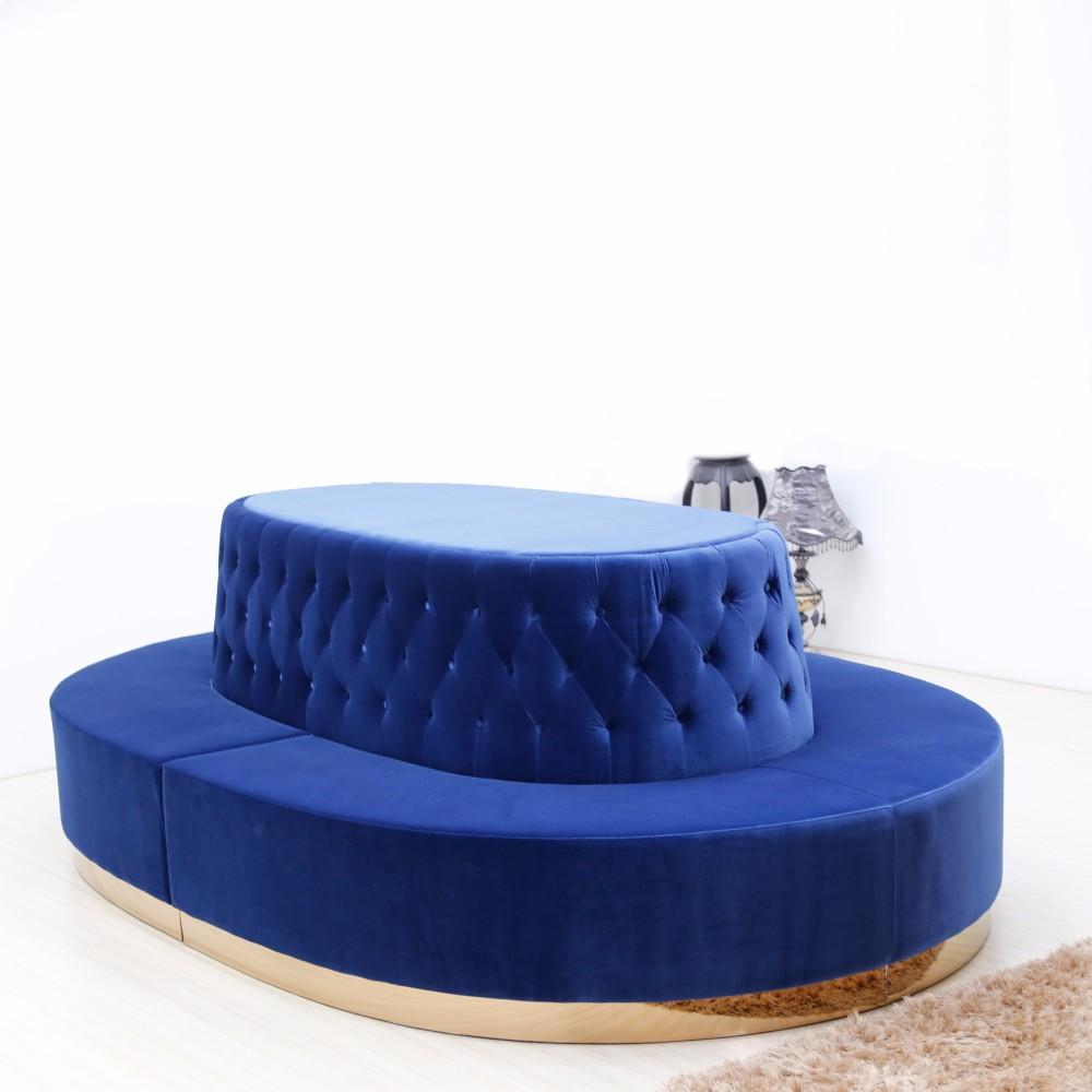 product-SP-KS175 Round leisure hotel furniture fabric sofa sets-Uptop Furnishings-img