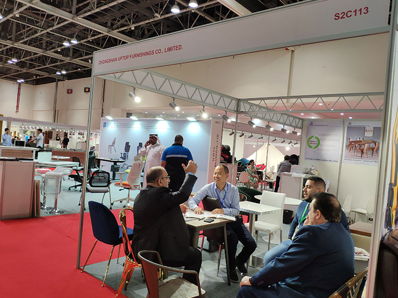 Uptop Furnishings-Uptop Attended The Homelife Exhibition In Dubai   Table For Office