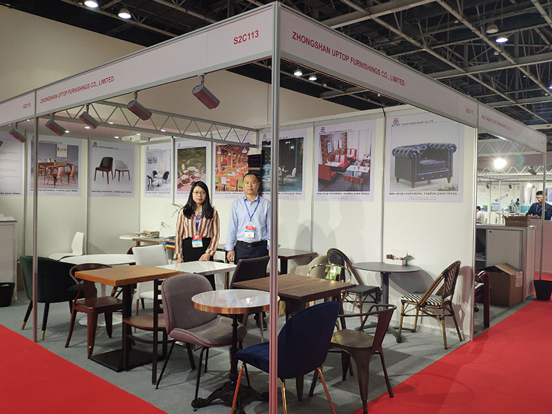 Uptop Furnishings-Uptop Attended The Homelife Exhibition In Dubai   Table For Office-1