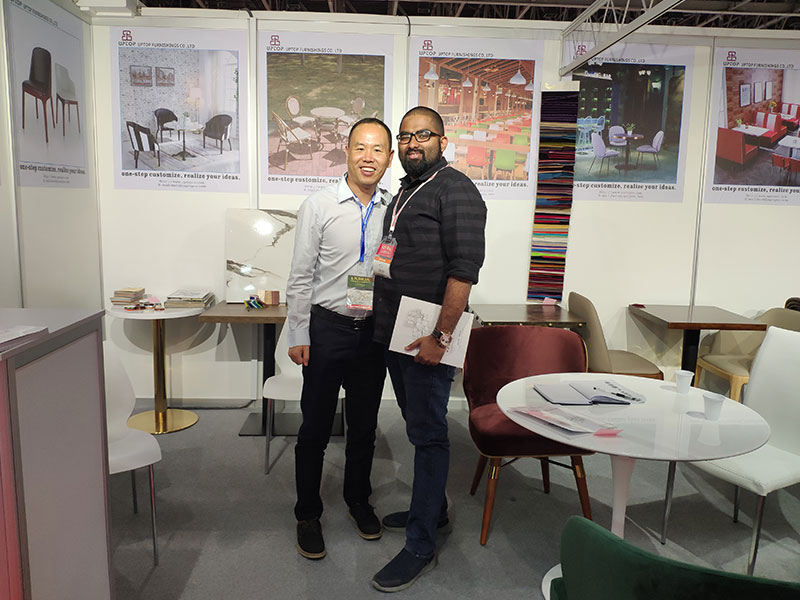 Uptop Furnishings-Uptop Attended The Homelife Exhibition In Dubai   Table For Office-3