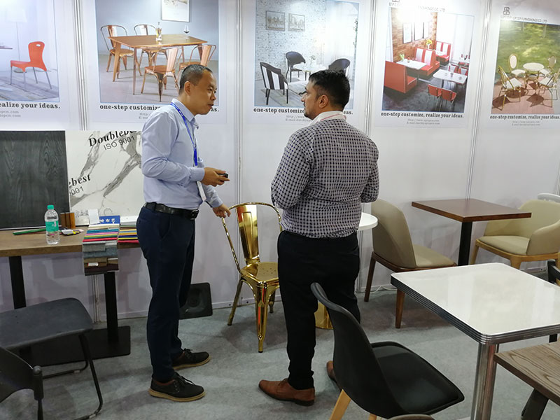 Uptop Furnishings-Uptop Attended The Homelife Exhibition In Mumbai   Office Table-1
