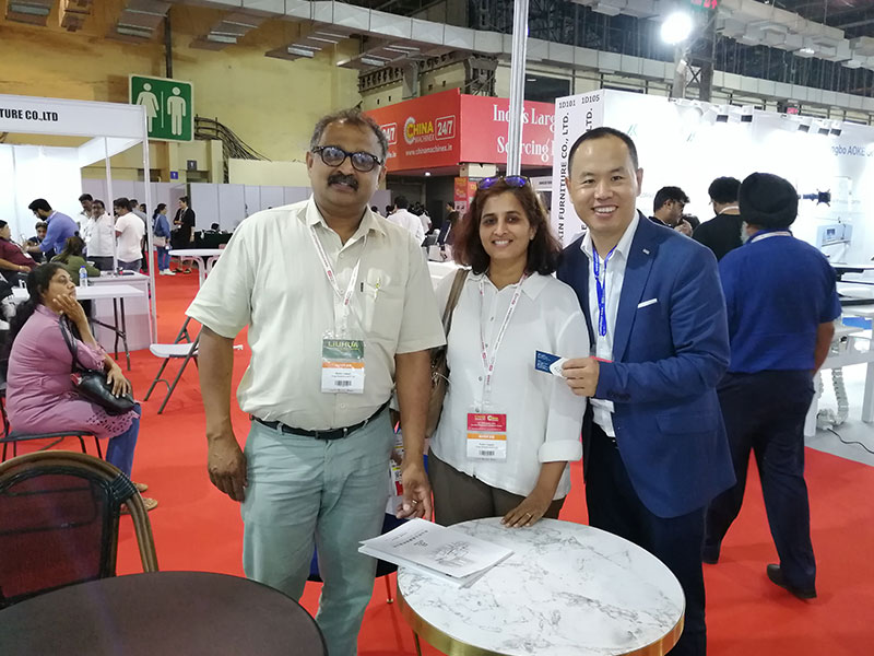 Uptop Furnishings-Uptop Attended The Homelife Exhibition In Mumbai   Office Table-2