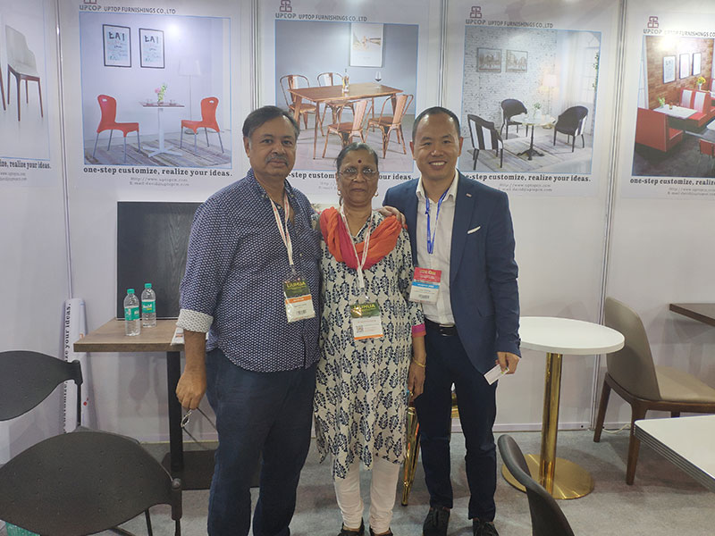 Uptop Furnishings-Uptop Attended The Homelife Exhibition In Mumbai   Office Table-3