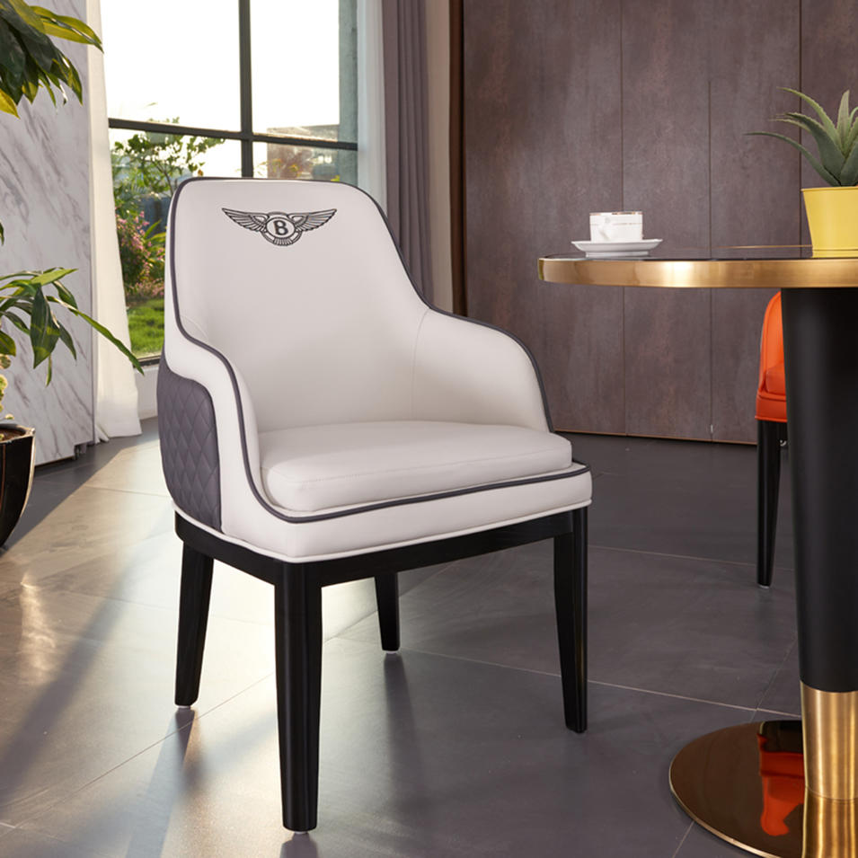 (SP-EC219) Modern lounge furniture metal wood arm cafe banquet dining restaurant chairs