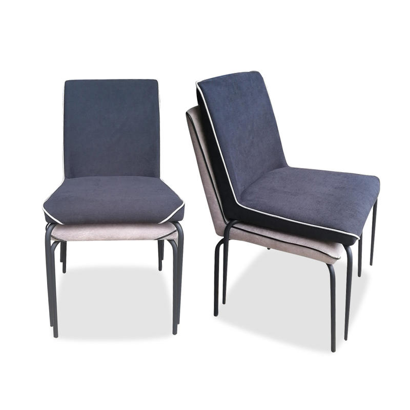 (SP-LC226) Modern design lounge upholstered wooden metal hotel cafe restaurant chairs