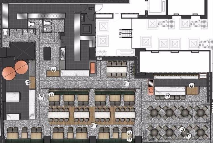product-Uptop Furnishings-SP-CS127 New design wholesale restaurant furniture set tailored restaurant-1