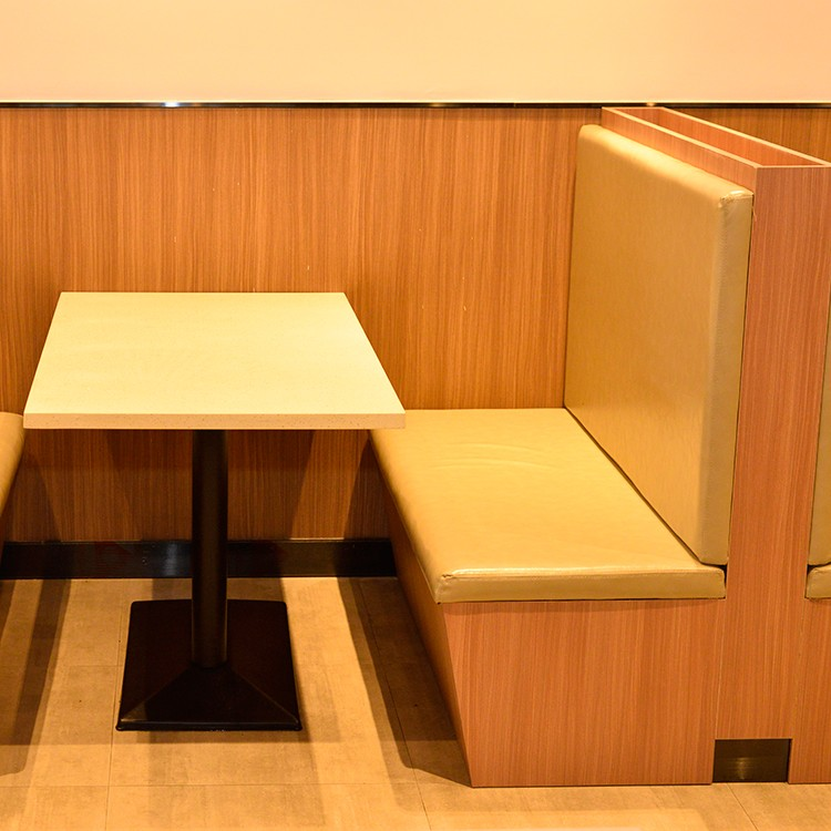 product-SP-CS152 Wholesale modern canteen dining room set sofa booth tables set used restaurant furn