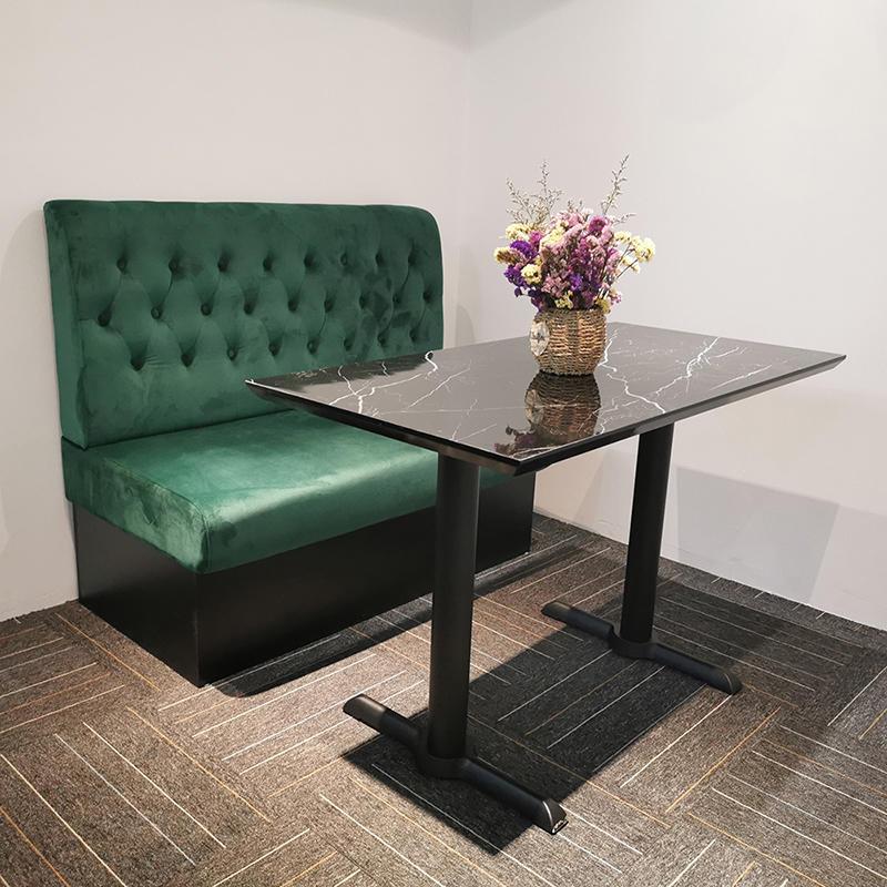New design modern living room sets fabric sofa seating furniture restaurant booths