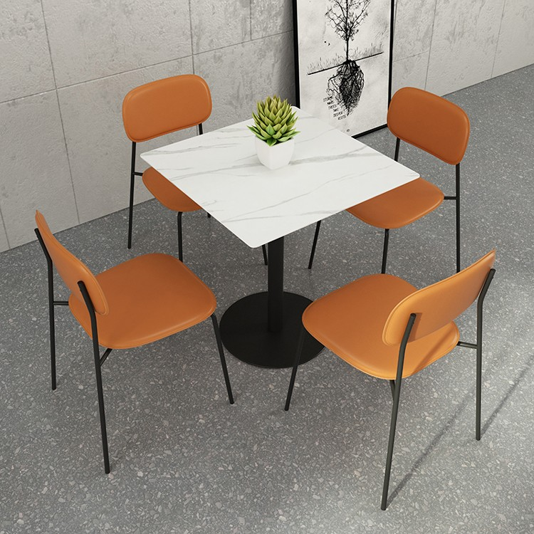 product-SP-LC201 New wholesale stackable metal cafe furniture restaurant chairs used dining sets-Upt