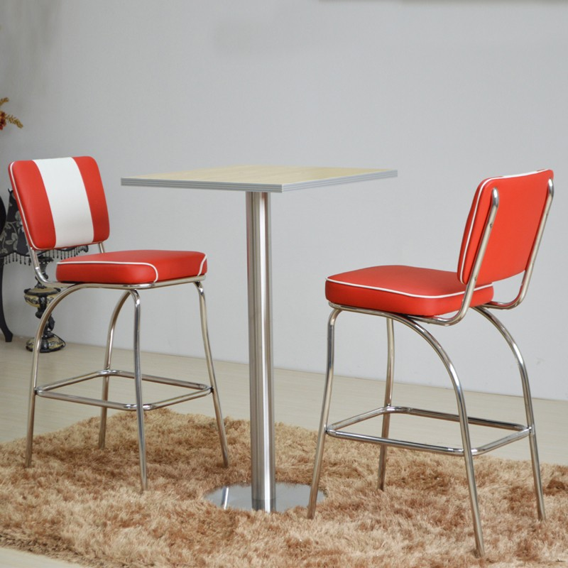 product-SP-CT847 1950s American bar dining tables and chairs set restaurant furniture-Uptop Furnishi-1