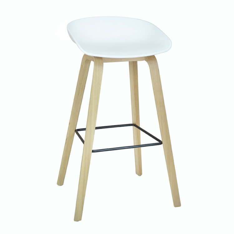 product-SP-BS200 Wholesale cheap plastic wood furniture bar stool chairs for restaurant-Uptop Furnis