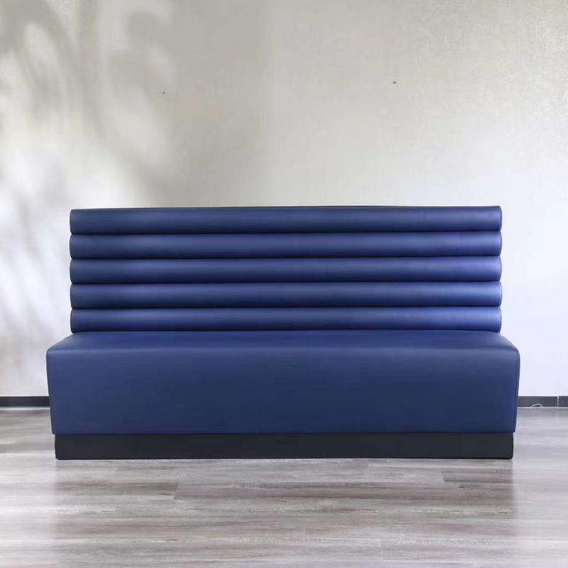 (SP-KS136) Modern new design restaurant sets sofa furniture booth seating