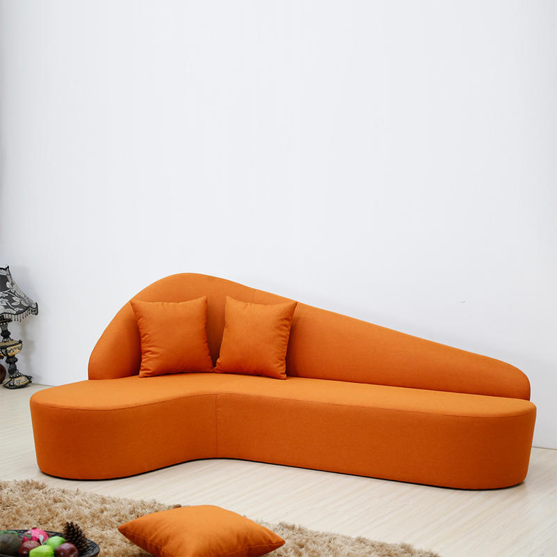 Luxury waiting room sofa leather producer for bank