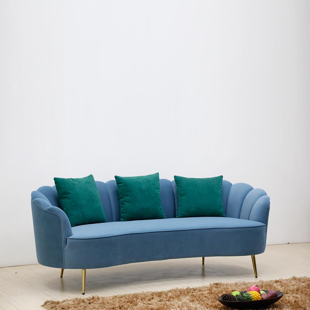 (SP-KS176) Modern hotel furniture living room sofa