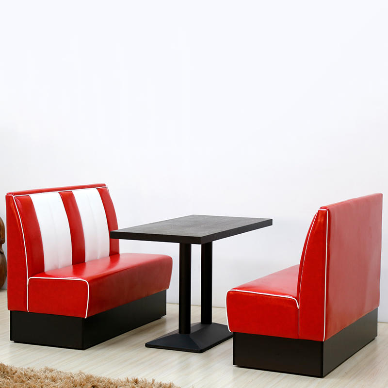(SP-KS269)  American casual cafe furniture restaurant booth