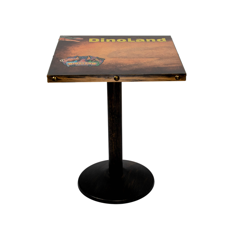 product-Uptop Furnishings-Logo 3D printing HPL table top with metal edge SP-RT179-img
