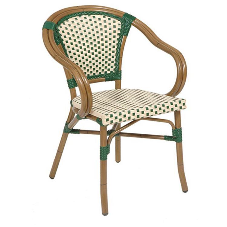 Wholesale good price outdoor rattan arm garden chairs (SP-OC430)