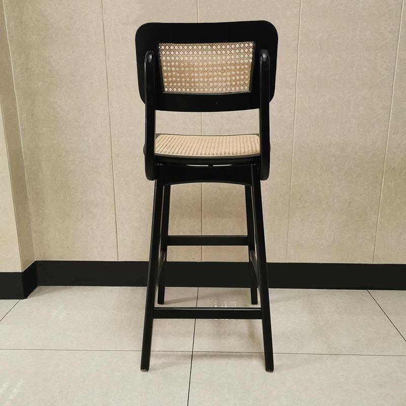 Modern bar furniture wicker wood bar chair(SP-BS266 )