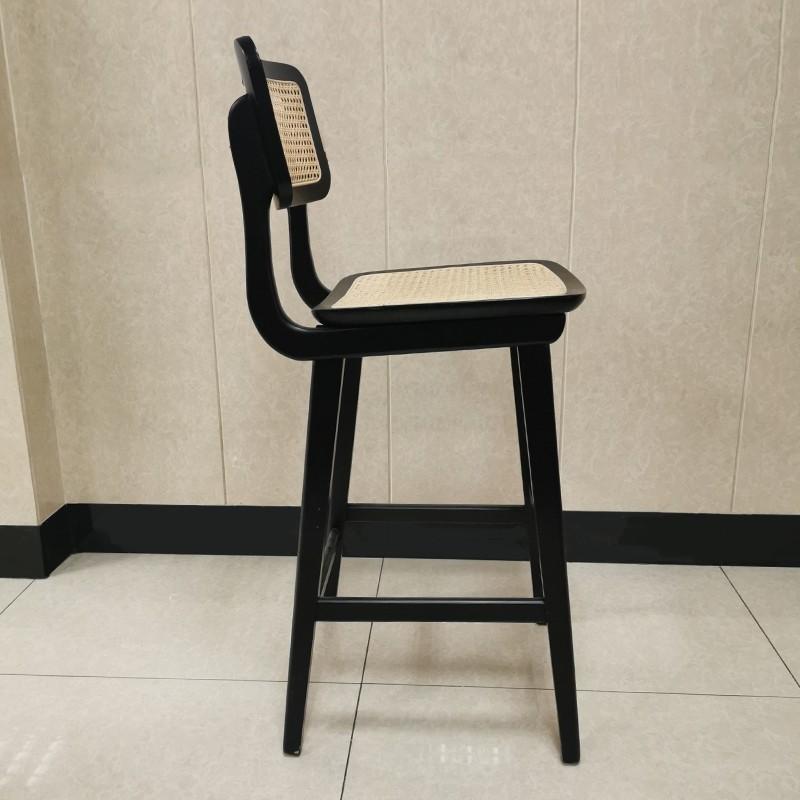 product-Modern bar furniture wicker wood bar chairSP-BS266 -Uptop Furnishings-img