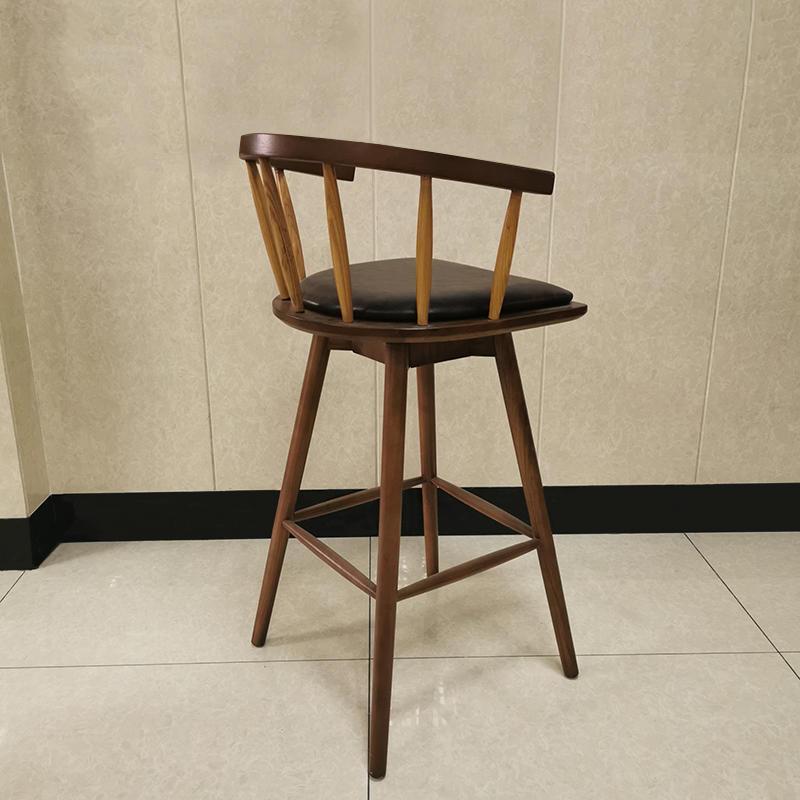 Classic design bar furniture antique leather bar chair (SP-BS275 )