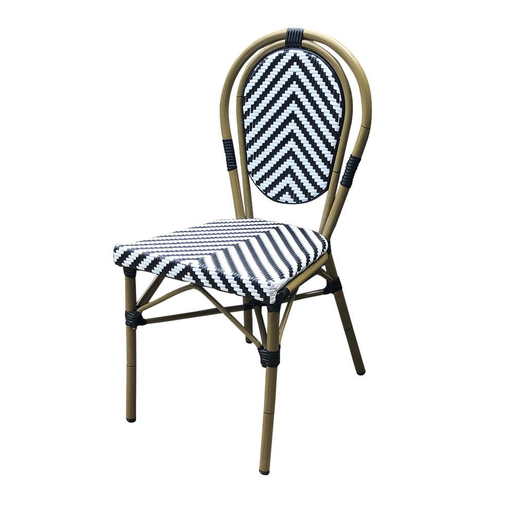 Hot sale aluminium frame garden rattan outdoor chairs (SP-OC355)