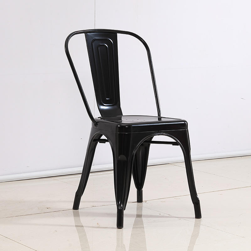 Cafe stacking french bistro metal vintage industrial chair (SP-MC035)