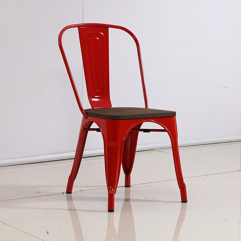 product-Cafe stacking french bistro metal vintage industrial chair SP-MC035-Uptop Furnishings-img