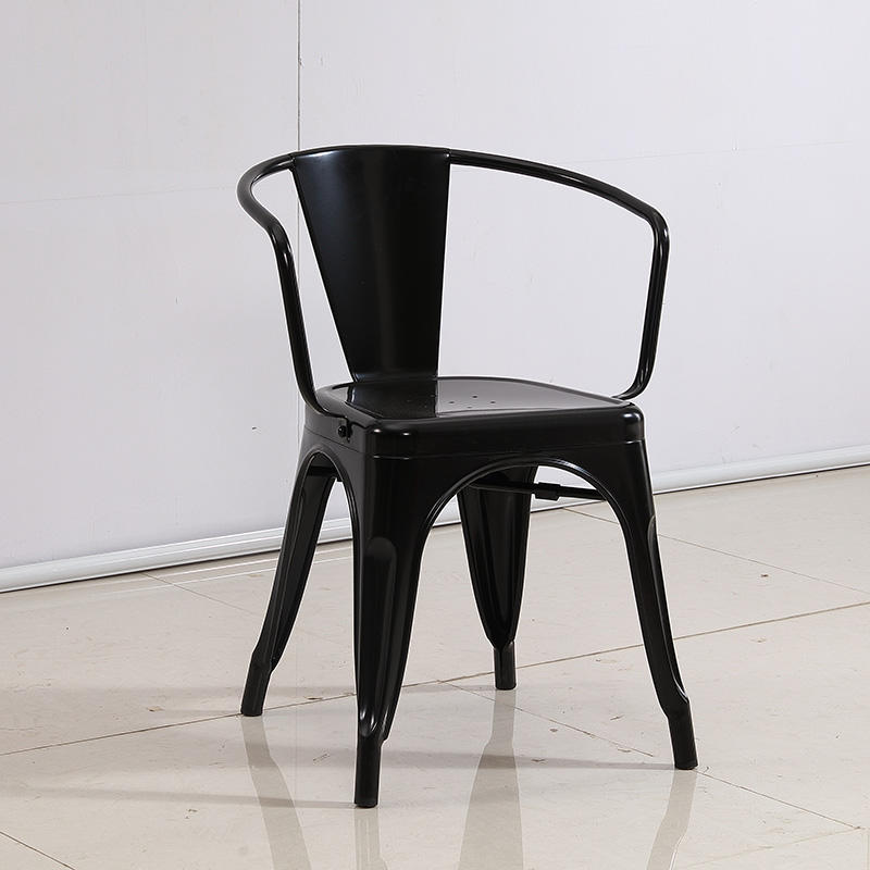 Industrial style coffee and restaurant metal chair (SP-MC036)