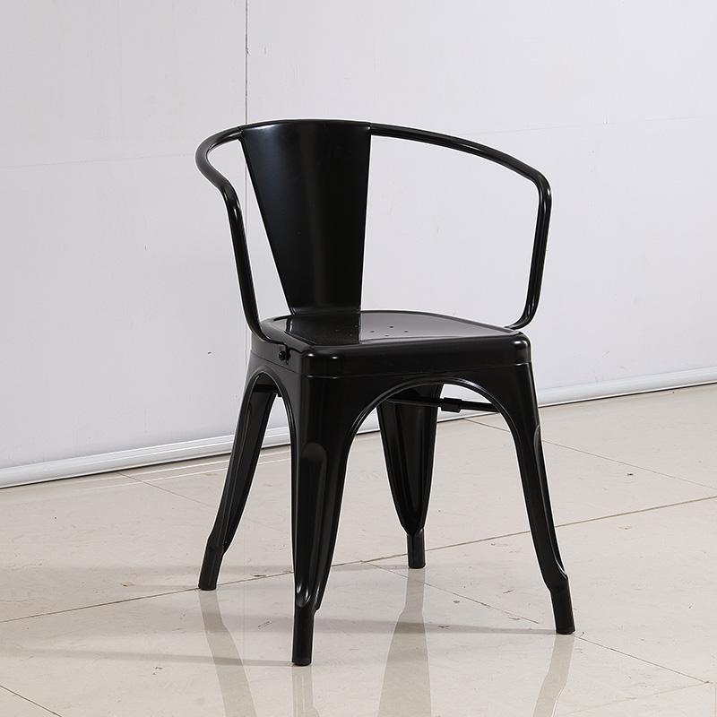 product-Industrial style coffee and restaurant metal chair SP-MC036-Uptop Furnishings-img
