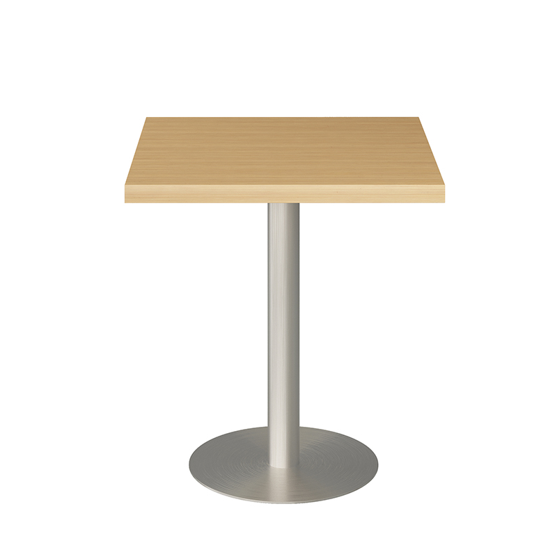 product-Hot sale coffee furniture square laminate table top black steel base metal coffee tables-Upt