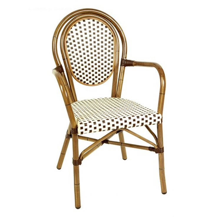 product-Uptop Furnishings-French style high quality garden set rattan arm outdoor chair SP-OC516-img