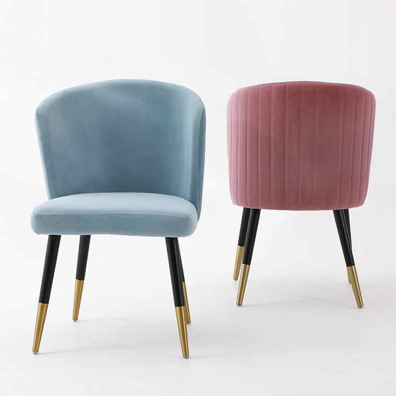 Light luxury comfortable dining hotel chairs