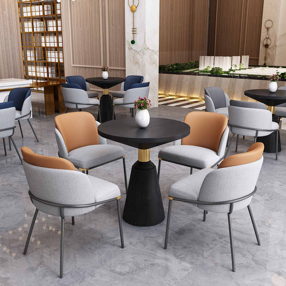 product-Popular Upholstery comfortable dining chair and table set-Uptop Furnishings-img