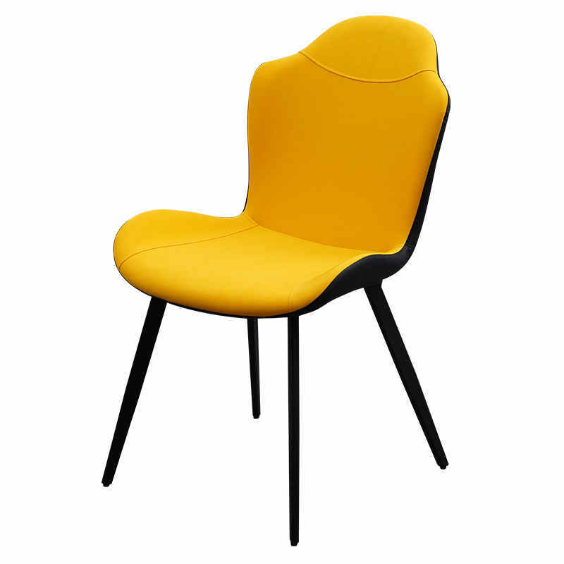 Hot sale high quality PU leather hotel dining chairs