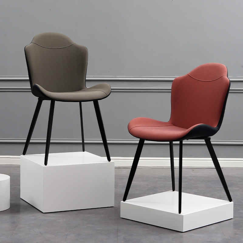 product-Uptop Furnishings-Hot sale high quality PU leather hotel dining chairs-img