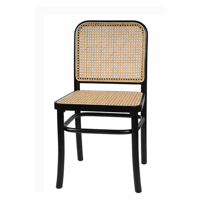 Sample design real wicker dinning chairs restaurant chairs