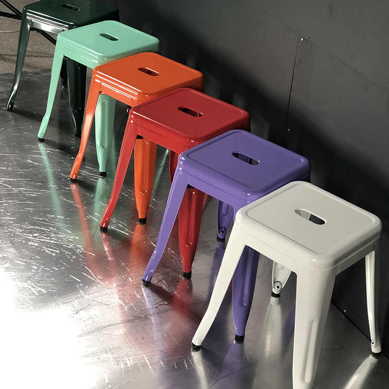 product-Hot sale industrial metal dining stool-Uptop Furnishings-img