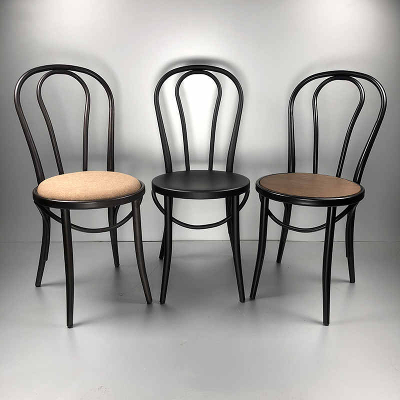 Metal Round back dining chair