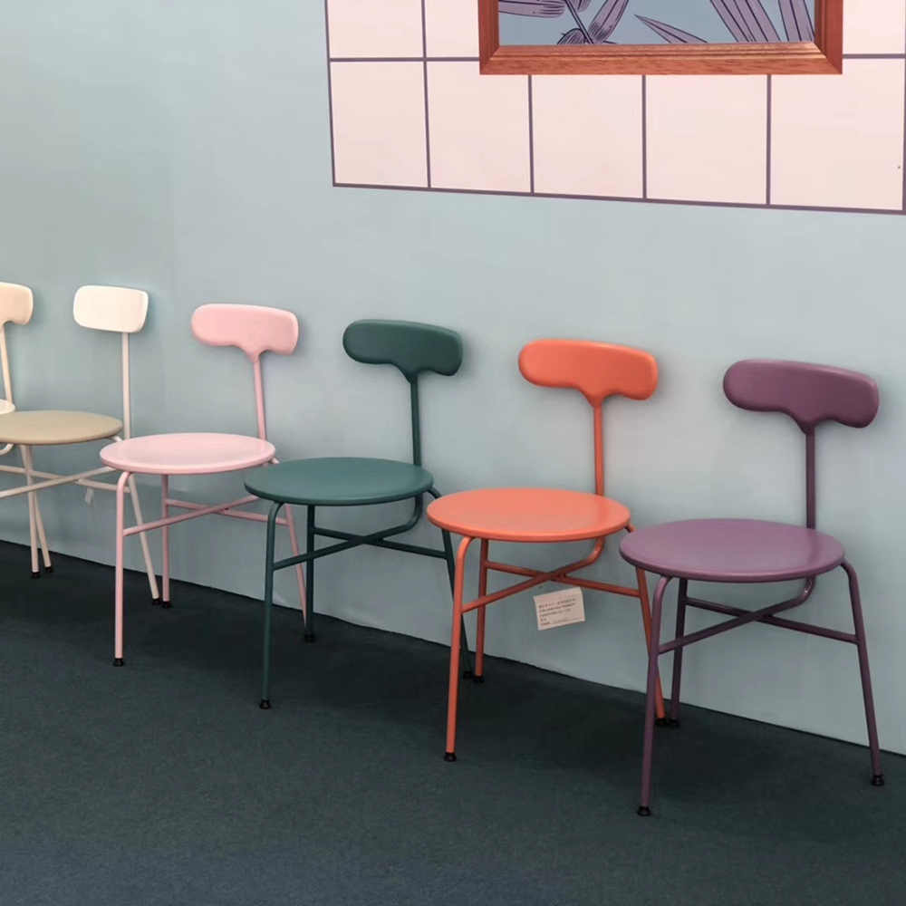 product-Uptop Furnishings-New style sample design metal frame chair-img