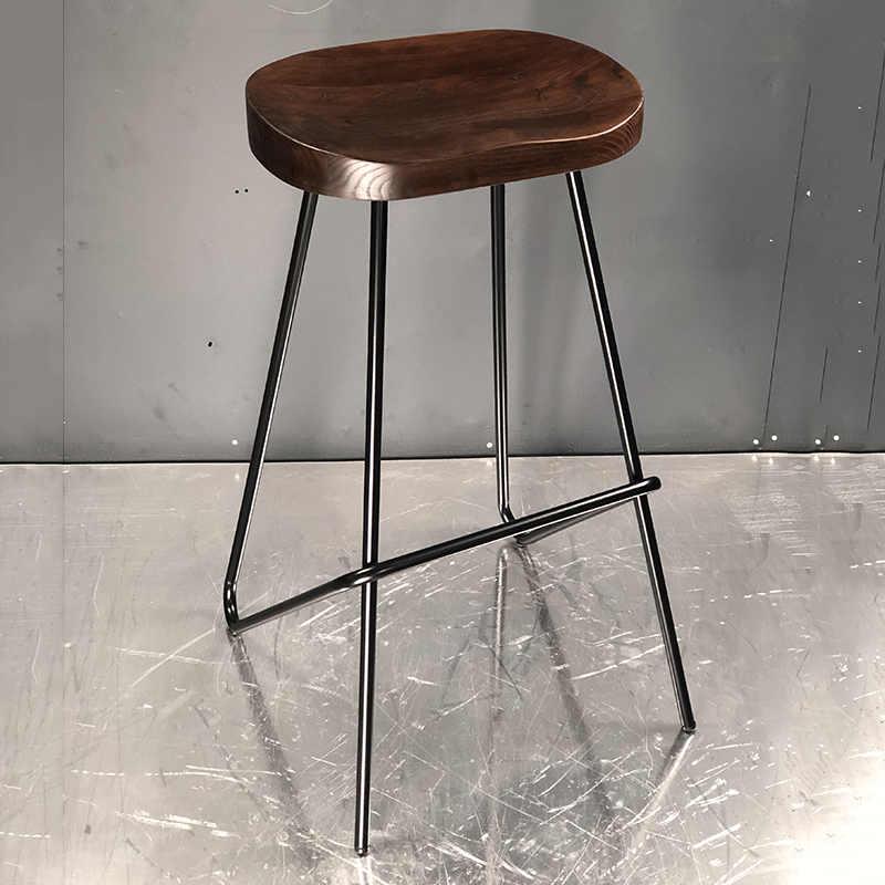 product-Sample design wood seat metal frame chair-Uptop Furnishings-img-1