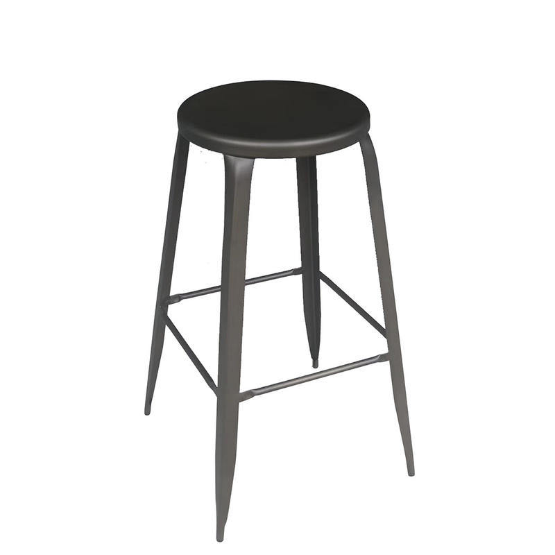 New Style Hot Selling Metal Round Bar Stool