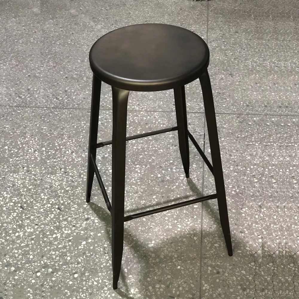 product-Uptop Furnishings-New Style Hot Selling Metal Round Bar Stool-img