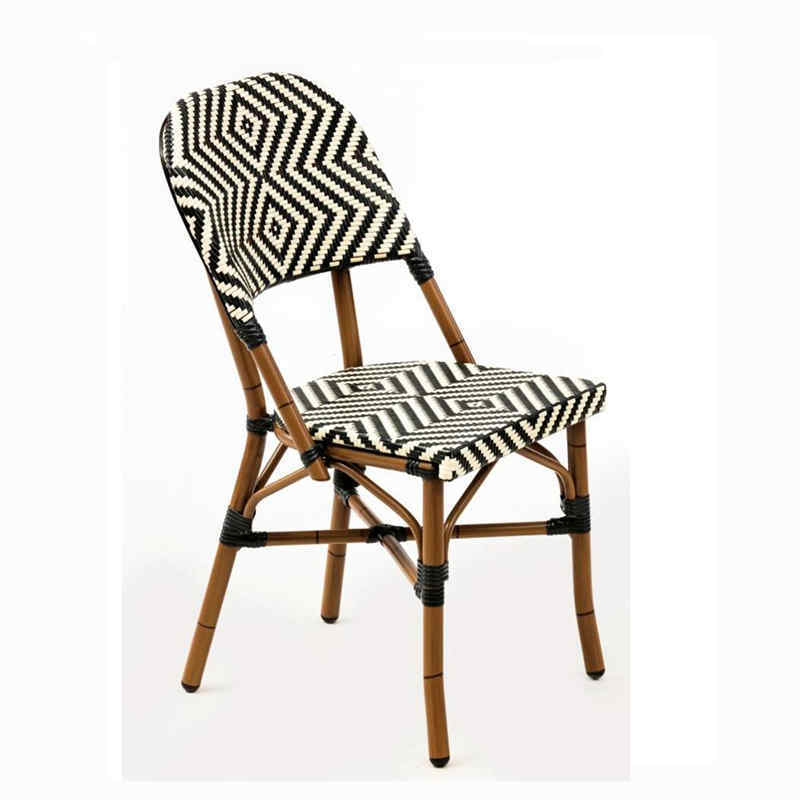 Outdoor chair garden furniture cafe table and chairs