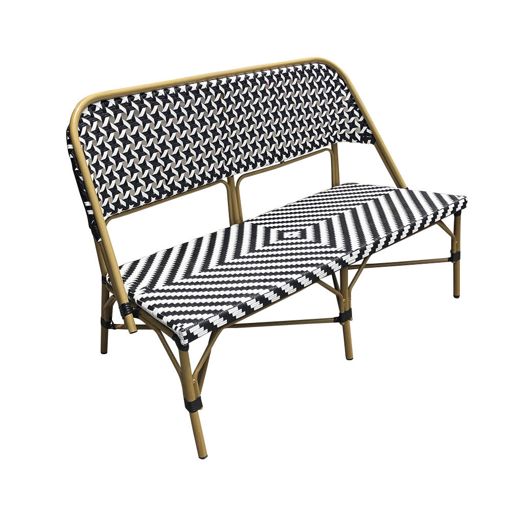 New Style Hot Selling Outdoor Restaurant Loveseat