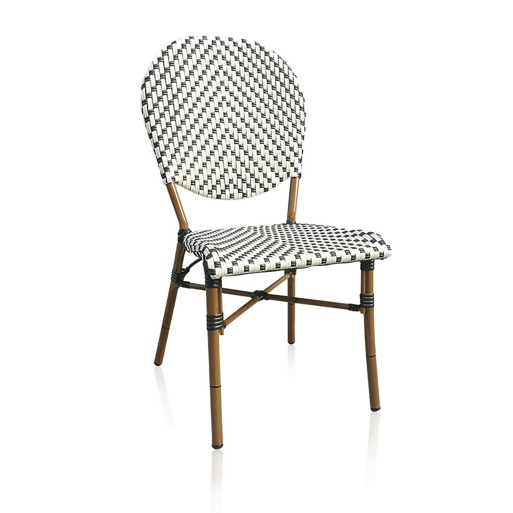 New Style Outdoor Round Back Restaurant Chair