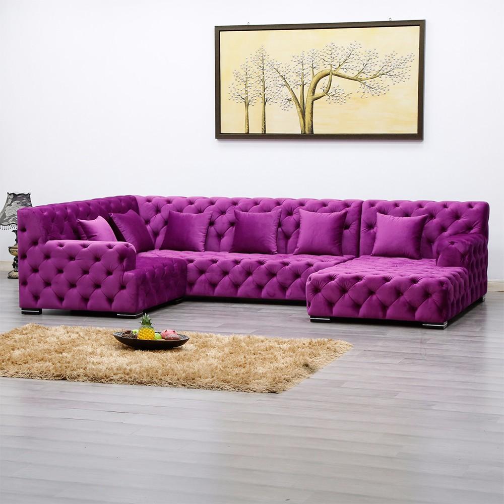 product-Uptop Furnishings-SP-KS252 Modern hotel cafe fabric sofa furniture-img-1