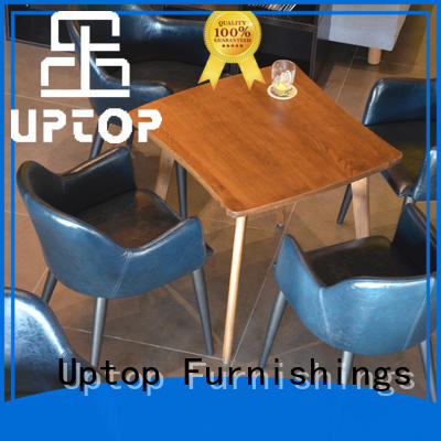 Uptop Furnishings table table & chair set free design for office space