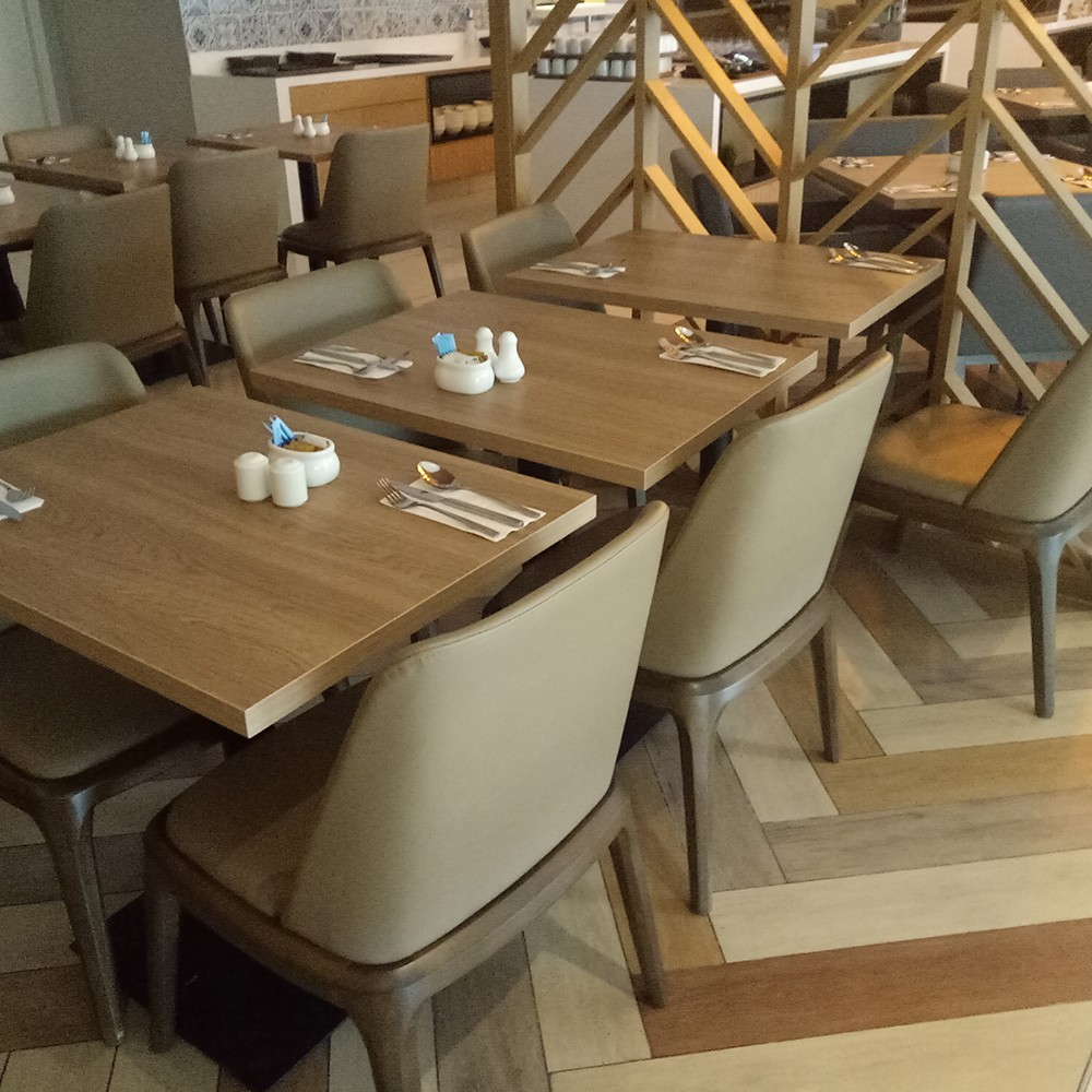 Uptop Furnishings-Quality Leather Sofas Manufacture   Restaurant In Zhongshan-2