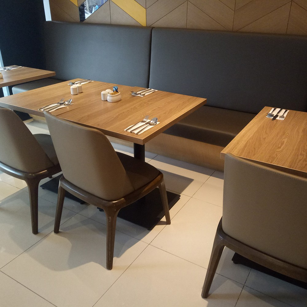 Uptop Furnishings-Quality Leather Sofas Manufacture   Restaurant In Zhongshan-1